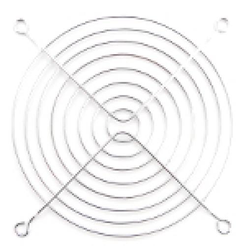 Решетка (гриль) для вентиляторов 120mm, Silver - изображение 1