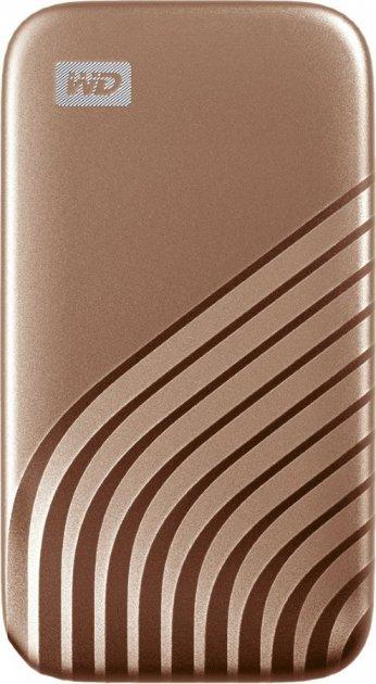 Western Digital My Passport 1TB USB 3.2 Type-C Gold (WDBAGF0010BGD-WESN) External - зображення 1