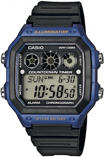 Чоловічі годинники Casio AE-1300WH-2AVEF - зображення 1