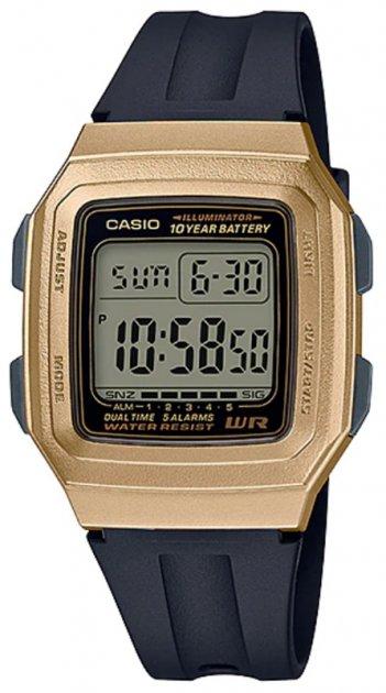 Чоловічі годинники Casio F-201WAM-9AVEF - зображення 1