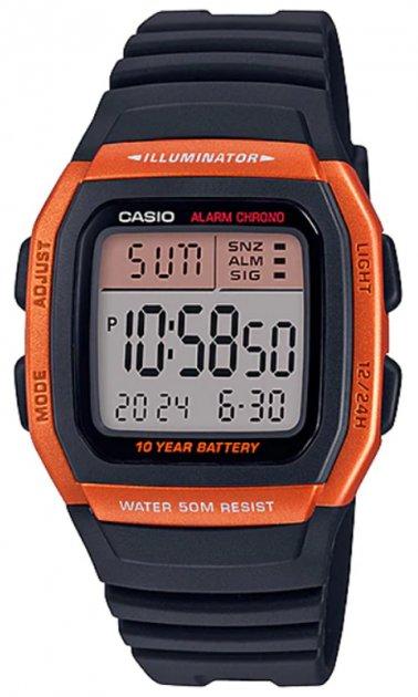 Чоловічий годинник Casio W-96H-4A2VEF - зображення 1