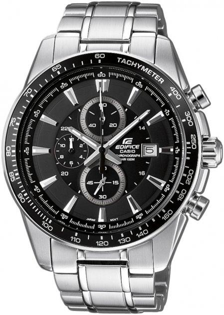 Чоловічий годинник Casio EF-547D-1A1VEF - зображення 1