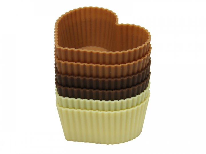 Форма для випічки Maestro силікон 6 шт. MR-1057 - изображение 1