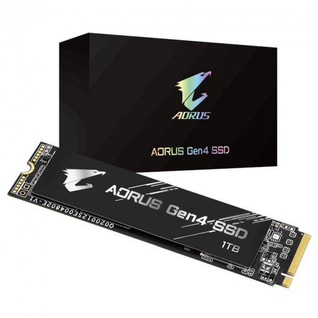 Твердотельный накопитель SSD M.2 AORUS 1TB NVMe PCIe 4.0 4x 2280 (JN63GP-AG41TB) - зображення 1
