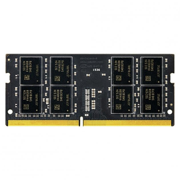 Модуль памяти для ноутбука SoDIMM DDR4 8GB 2133 MHz Elite Team (TED48G2133C15-S01) - изображение 1