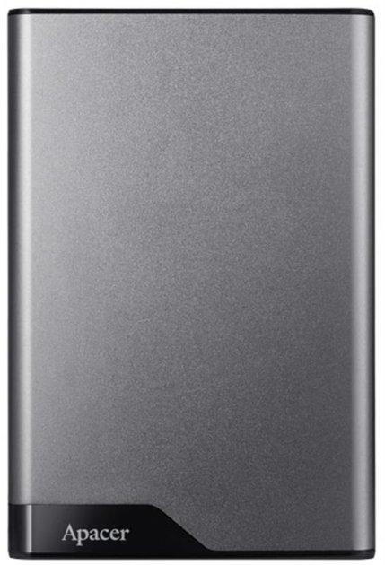 """Накопичувач зовнішній HDD 2.5"""" USB 1.0 TB Apacer AC632 Grey (AP1TBAC632A-1) - зображення 1"""