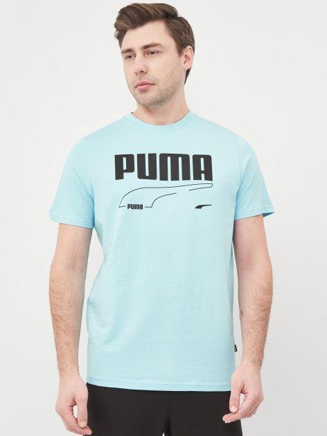 Футболка Puma Rebel Tee 58573849 S Angel Blue (4063697361867) - изображение 1