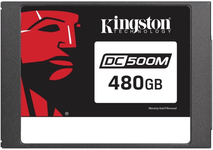 """Kingston DC500M 480GB 2.5 """"SATAIII 3D TLC (SEDC500M/480G) - зображення 1"""