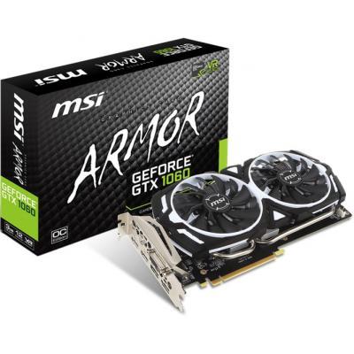 Відеокарта MSI GeForce GTX1060 3072Mb ARMOR OC (GTX 1060 ARMOR 3G OCV1) - зображення 1