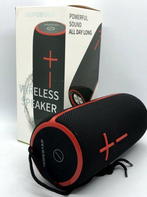 Bluetooth-колонка HOPESTAR-P21, StrongPower, c функцією speakerphone, радіо, black - зображення 1