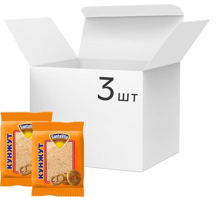 Упаковка кунжуту SantaVita Classic 3 шт. х 150 г (54820061501282) - зображення 1
