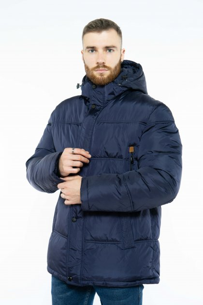 Куртка мужская Time of Style 157P1737 54 Чернильный - изображение 1