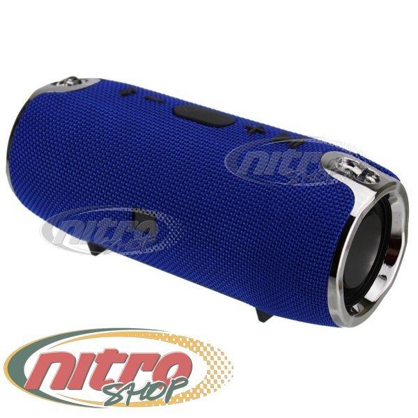 Колонка BassUP XTREME MINI SE портативна Bluetooth Usb, SD FM колір Синій - зображення 1