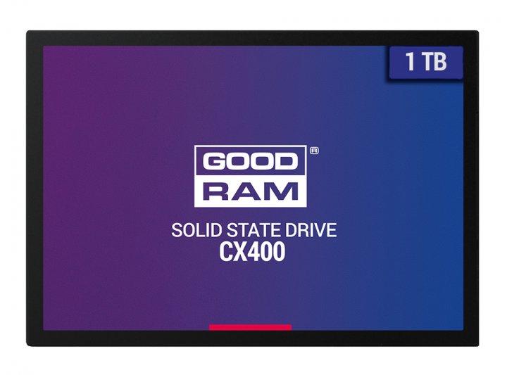 """Goodram CX400 1TB 2.5"""" SATAIII 3D TLC (SSDPR-CX400-01T) - зображення 1"""