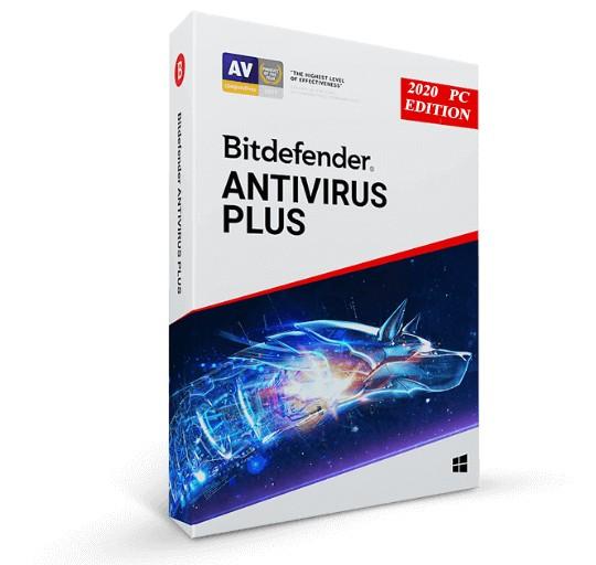 Ліцензійний антивірус BitDefender Antivirus Plus 2020 операційну систему Windows 7/8/10 (Ліцензія на 2 роки на 3 ПК) - зображення 1
