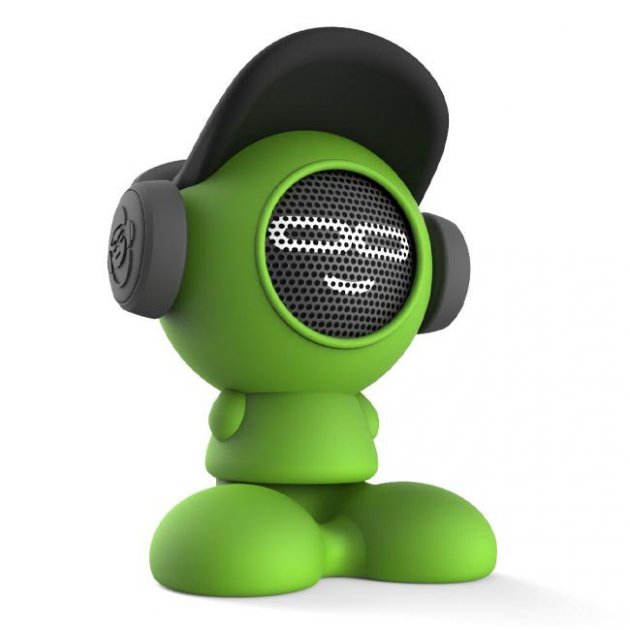 Портативная Bluetooth-колонка IDance Beat Dude 10W Зеленая (BD10GR) - зображення 1