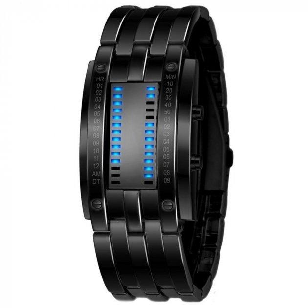Мужские часы LED Skmei 0926 Black (0411) - изображение 1