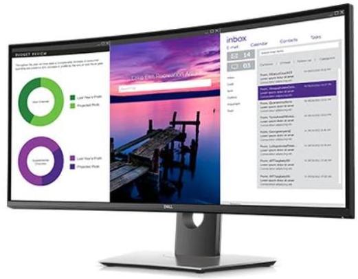 Монитор Dell U3419W (210-AQVQ) (F00170183) - изображение 1
