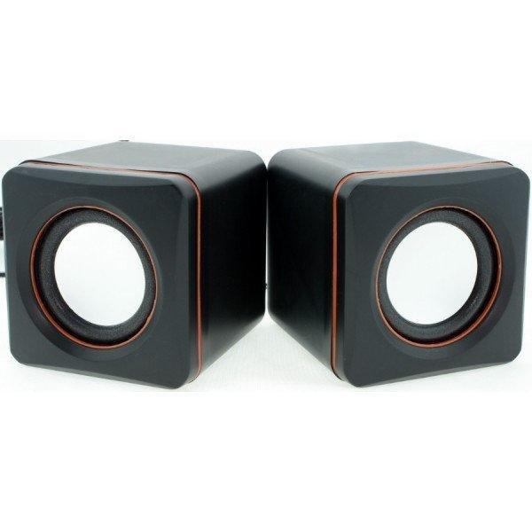 Комп'ютерні колонки акустика D-02-A - зображення 1