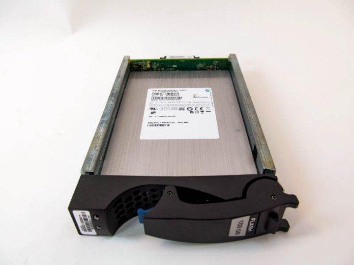 SSD EMC 100GB 3.5 in SAS SSD for VNX (5051379) Refurbished - зображення 1