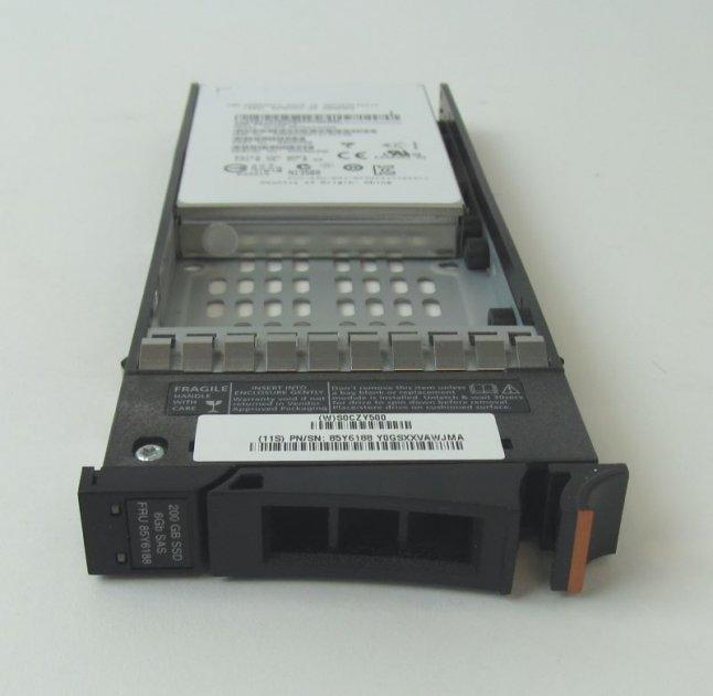 SSD IBM 200GB 2.5 INCH SSD (E MLC) (85Y6188) Refurbished - зображення 1