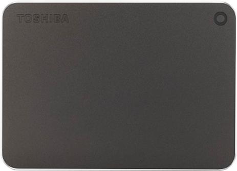"""Жорсткий диск Toshiba Canvio Premium 2TB HDTW220EB3AA 2.5"""" USB Type-C External Dark Gray Metallic - зображення 1"""