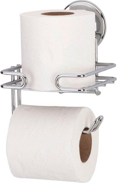 Тримач для туалетного паперу на вакуумному присоску TEKNO-TEL DM275 - зображення 1