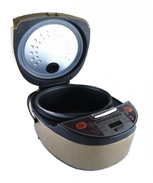 Мультиварка-фритюрница 12 программ 6,0 л Rice Cooker MultiPro BITEK BT-00033 1500 Вт - изображение 1