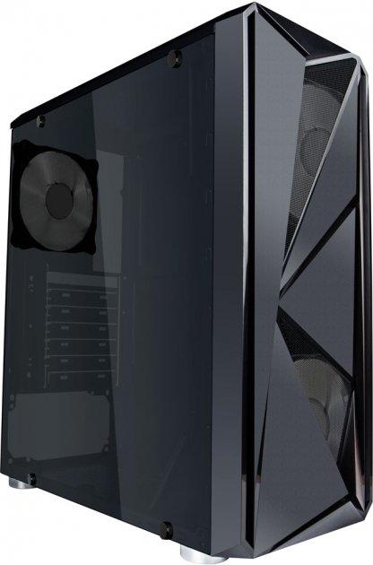 Корпус 1stPlayer F4-3B1 Black - зображення 1