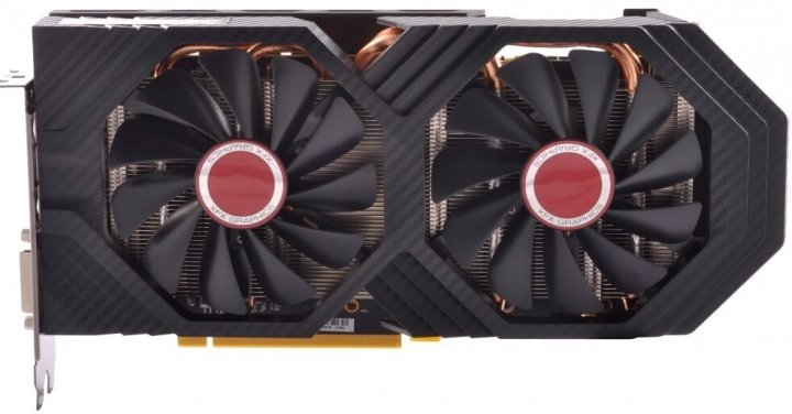 XFX PCI-Ex Radeon RX 580 GTS 8GB GDDR5 (256bit) (1366/8000) (DVI, HDMI, 3 x Display Port) (RX-580P8DFD6) - зображення 1