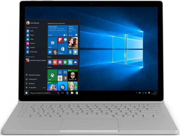 Ноутбук Microsoft Surface Book 2 (HN6-00001) Silver - зображення 1