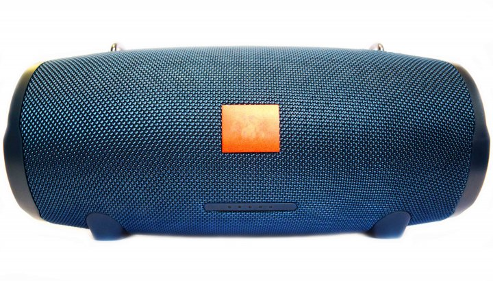 Портативна бездротова Bluetooth стерео колонка T&G Xtreme 2 Big Синя (Xtreme 2 Blue) - зображення 1