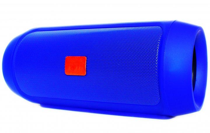Портативна Bluetooth стерео колонка T&G Charge 2 mini Синя (Charge 2 mini Blue) - зображення 1