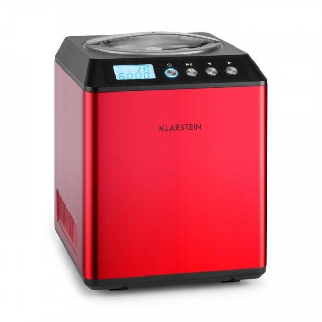 Машина для морозива Klarstein Vanilla Sky (10028874) червона - зображення 1