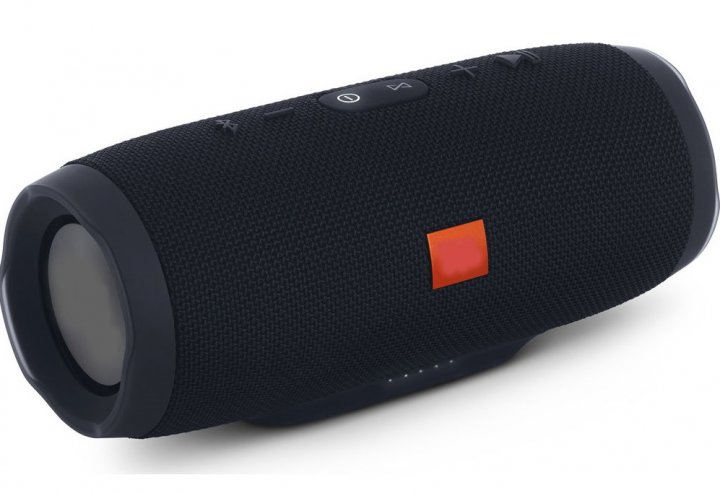 Портативна бездротова Bluetooth стерео колонка T&G 3 Чорна ( 3 Black) - зображення 1
