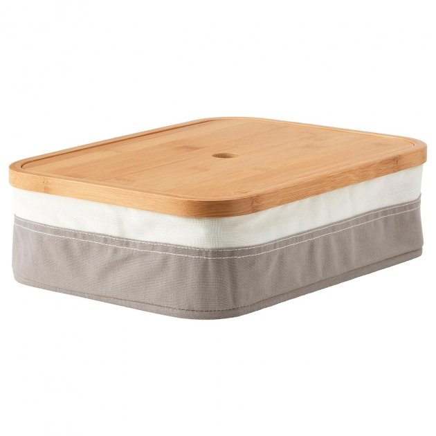 Коробка IKEA (ІКЕА) RABBLA 25х35х10см з відсіками (903.481.24) - зображення 1