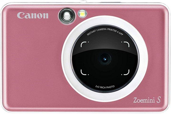Камера моментальной печати Canon Zoemini S Rose Gold (3879C007AA) - изображение 1