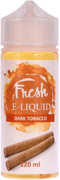 Рідина для електронних сигарет Fresh Dark Tobacco 6 мг 120 мл (Вишуканий тютюн з темних сортів) (FR8460) - зображення 1