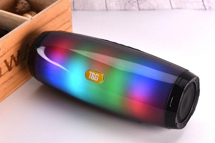 Портативная Bluetooth колонка T&G 165 (Black) - изображение 1