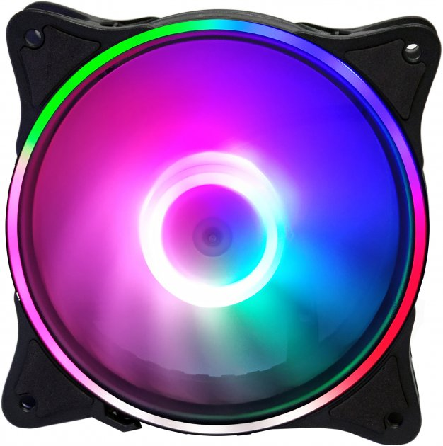 Кулер Cooling Baby 12025HBRGB Rainbow Spectrum - зображення 1