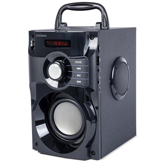 OVERMAX SOUNBEAT Bluetooth 2.0 FM MP3 USB microSD Black - зображення 1