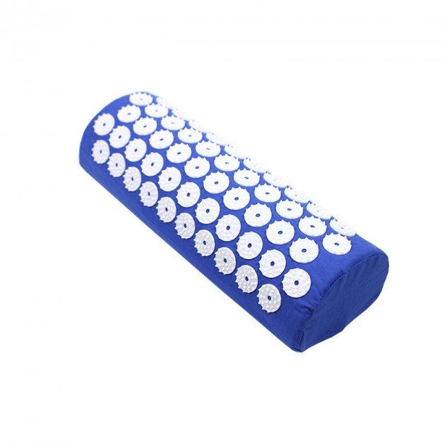 Подушка аппликатор Кузнецова для акупунктуры Dobetters Blue полувалик игольчатый - изображение 1