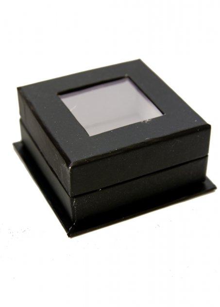 Декоративні коробочки (скриньки) 4шт SXdeco 5,5х5,5х2,7см Чорний, Білий dec0000767 - зображення 1