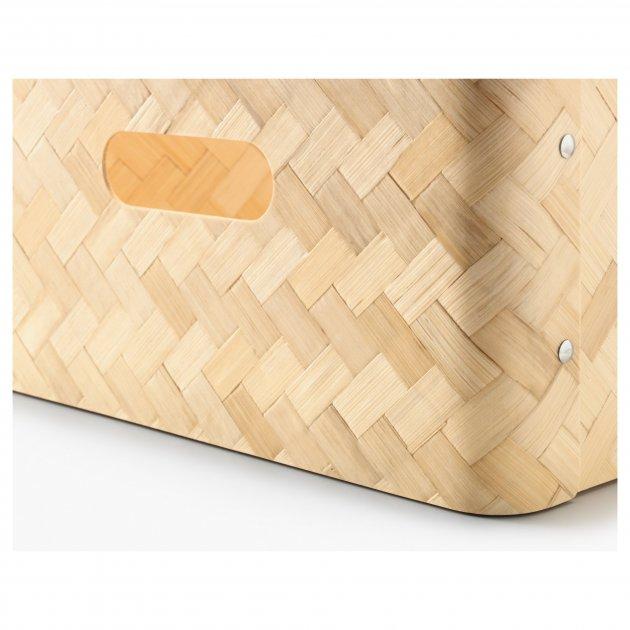 Ящик для хранения IKEA BULLIG 32x35x16 см бамбук 902.648.88 - изображение 1