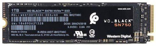WD BLACK SN750[WDS100T3X0C] - зображення 1