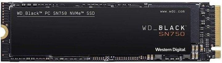 Твердотільний накопичувач SSD WD M. 2 NVMe PCIe 3.0 4x 500GB SN750 Black 2280 + Hit sink - зображення 1