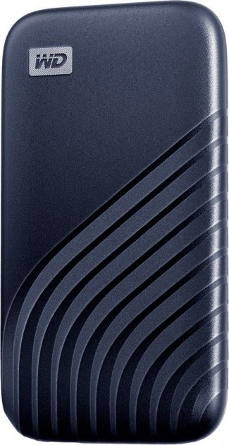 Портативний SSD USB 3.0 WD Passport 2TB R1050/W1000MB/s Midnight Blue - зображення 1