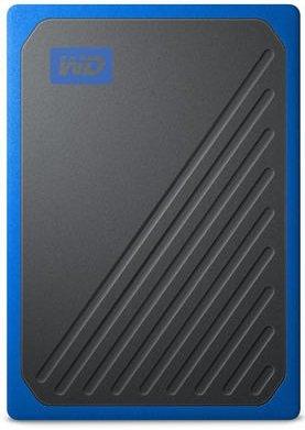 Портативний SSD USB 3.0 WD Passport Go 1TB Blue - зображення 1