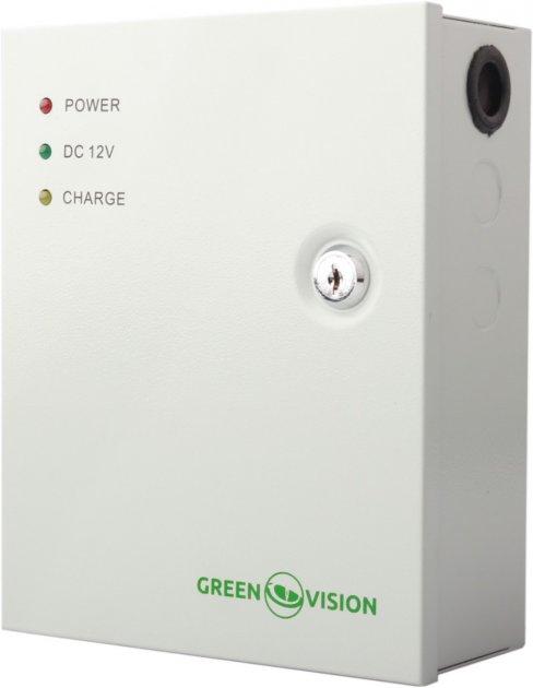 Блок безперебійного живлення Green Vision GV-001-UPS-A-1201-3A (LP5456) - зображення 1