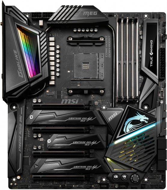 Материнская плата MSI MEG X570 Godlike (sAM4, AMD X570, PCI-Ex16) - изображение 1